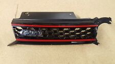 2010 11 12 13 14 VOLKSWAGEN GOLF GTI FRONT MAIN UPPER GRILLE EMBLEM W/ RED BARS