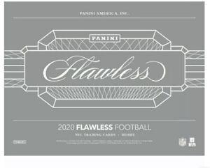 "2020 PANINI FLAWLESS FOOTBALL HOBBY FACTORY SEALED 7-CARD ""INNER"" BOX ! 5+AUTOS!"