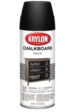 KRYLON CHALKBOARD BLACK 12OZ