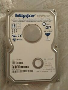 "Hard Disk MAXTOR DiamondMax Plus 9 6Y080L0422611 80Gb IDE ATA 133 3,5"""