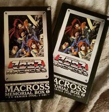Macross, Robotech, Anime, DVD boxset