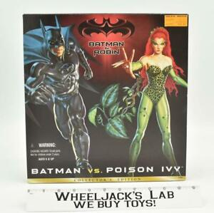 """12"""" Batman Vs. Poison Ivy Collector's Ed. New MISB 1997 Kenner Action Figure"""