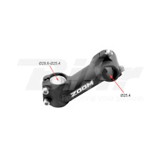 ABR ATTACCO MANUBRIO NERO HANDLEBAR STEM BLACK A-HEAD L:110 mm 35° BICI BMX BIKE