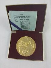 1964 tokyo olympics Gold Plated Relay Medal With Case Offical...2bs