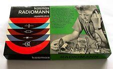 Kosmos Radiomann Lehrspielzeug Lernspielzeug Elektrobaukasten 60er 70er