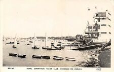 POSTCARD  ESSEX   BURNHAM  ON  CROUCH  Royal  Corinthian Yacht  Club    RP