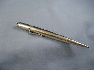 S MORDAN GOLDSMITHS & SILVERSMITHS STERLING SILVER ART DECO PROPELLING PENCIL