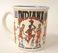 Indiana Hoosiers Funny Men's Basketball Coffee Mug You're Among Hoosiers B79