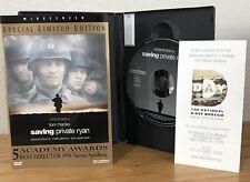 Saving Private Ryan (Dvd, 1999) Limited Edition w/Pamphlet Insert ~ Region 1