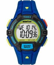 "Timex TW5M02400, Men's ""Ironman "" 30-Lap Resin Watch, Rugged, Alarm, Indiglo"