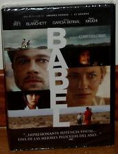 BABEL DVD NUEVO PRECINTADO DRAMA BRAD PITT (SIN ABRIR) R2