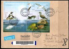 Namibia oversized Cover - 2011 Leben im Meer Pinguin Tölpel Albatros Brasse