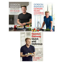 Gordon Ramsay 3 Books Collec tion Set Ultimate Fit Food,Ultimate Home Cooking
