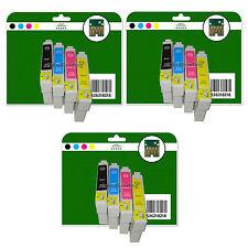 Any 12 Ink Cartridges for Epson SX218 SX400 SX405 SX410 SX415 non-original E711