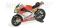 Minichamps 122 120046 Ducati Desmosedici Diecast Bicicleta v Rossi MotoGP 2012 1:12th
