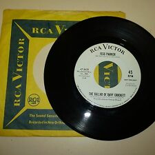 TV SHOW THEMES - FESS PARKER - RCA VICTOR 47-8429 - PROMO WITH COMPANY SLEEVE