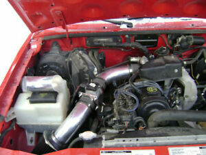 BCP BLACK 95-97 Ford Ranger Mazda B2300 2.3L L4 Short Ram Air Intake + Filter