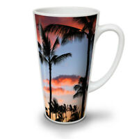 Red Sky Palm Sun NEW White Tea Coffee Latte Mug 12 17 oz | Wellcoda