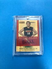 2007-08 Topps Trademark Moves Marco Belinelli #TI-MB  In The Paint RC Auto /10