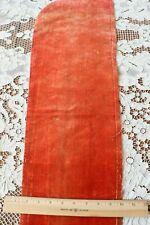 "Antique 1600s French Or Italian Silk Velvet Fabric~Dolls,Study~L-34&# 034;X W-9.5"""