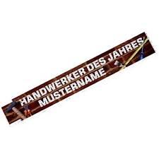 Zollstock Handwerker des Jahres Geschenk mit Namen jetzt selbst personalisieren
