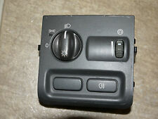 01 2001 Volvo S40 head fog light lamp high beam dimmer switch control OEM gray