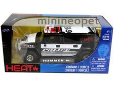 JADA HEAT 53549 HUMMER H2 SUV K-9 POLICE CAR # 616 1/24