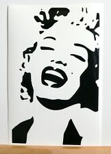 adesivo Marilyn Monroe auto moto scooter wall sticker decal vynil vinile attrice