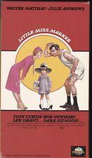 LITTLE MISS MARKER VHS NTSC JULIE ANDREWS,WALTER MATTHAU,TONY CURTIS NEW 80'S