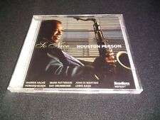 So Nice by Houston Person (CD, Oct-2011, High Note)
