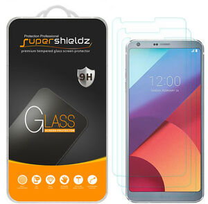 [3-Pack] Supershieldz Tempered Glass Screen Protector Saver for LG G6 / G6 Duo