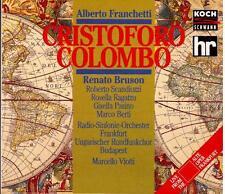 Alberto Franchetti Cristoforo Colombo Opern Gesamtaufnahme Roberto Scandiuzz