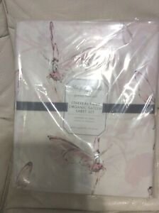 Pottery Barn Kids Monique Lhuillier Ethereal Fairy Organic Queen Sateen Sheets