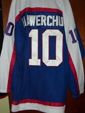 HOCKEY NHL JERSEY WINNIPEG JETS TEAMU SELANNE Dale Hawerchuk