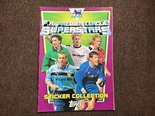 Topps premier league superstars complete football sticker album