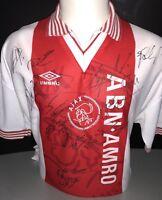 Signed Retro Ajax Squad Shirt
