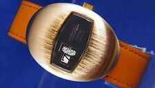 Vintage NOS Lasser por Ravisa salto de hora digital Watch 1970s Swiss necesita un servicio