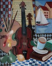 Artistes du XXe siècle et contemporains huiles signés pour cubisme