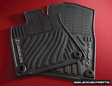Lexus GS350 GS450H (2013-2017) (RWD) 4pc OEM Genuine ALL WEATHER FLOOR MATS