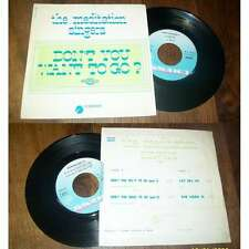 THE MEDITATION SINGERS - Don't You Want To Go? Rare French EP Blues Chess BIEM