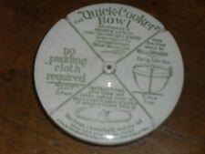 More details for vintage grimwades quick cooker bowl