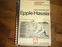 Epple HASSIA Kartoffel Vollernter Betriebsanleitung, Ersatzteilliste,Original