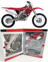HONDA CRF 450 - 1:12 KIT Maisto Die-Cast Motocross Mx Motorbike Toy Model Red