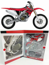 HONDA CRF 450 - 1:12 KIT Maisto Die-Cast Motocross Mx Motorbike Toy Model Red
