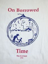 Vintage On Borrowed Time  Musical Theater Play Broadway Souvenir T Shirt L