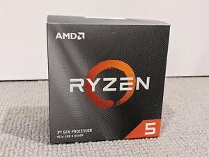 AMD Ryzen 5 3600 Socket AM4 3.6GHz Desktop Processor (with new cooler)