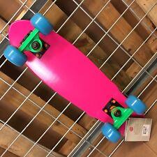 New Element Lightning Bug Cruiser Pink Complete Skateboard - 6.125in x 23.125in