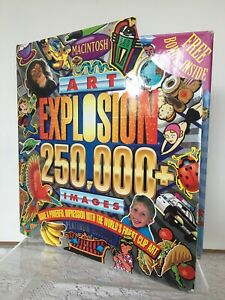 Art Explosion 250,000 Premium Image Collection Clip Art on 23 CD w/ User Manual