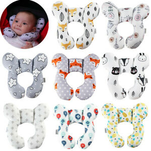 U-Shaped Pillow Baby Travel Car Seat Pillow Stroller Cushion Head Neck Support