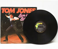 Tom Jones Live in Las Vegas LP Vinyl Record Album Stereo XPAS-71031 USA 1969